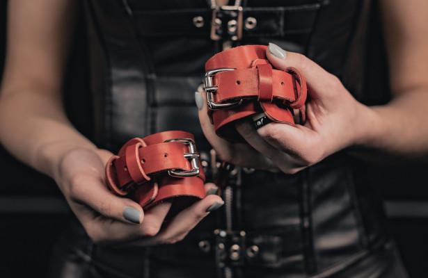 БДСМ наручники RED 01
